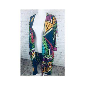 Stewart Sport Colorful Geometric Kimono